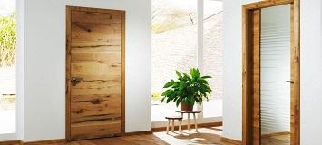 Как ухаживать за дверями из натурального дерева