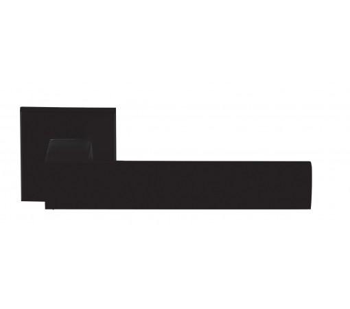 Ручка Ilavio, 2036, на квадратной розетке, чёрный матовый