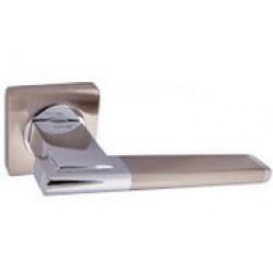 Ручка дверная NEW KEDR R 08.142-AL-SN/CP